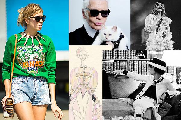 От коллекции H&M x Kenzo до костюмов Ulyana Sergeenko для Бейонсе: о чем еще говорили в мире моды на этой неделе