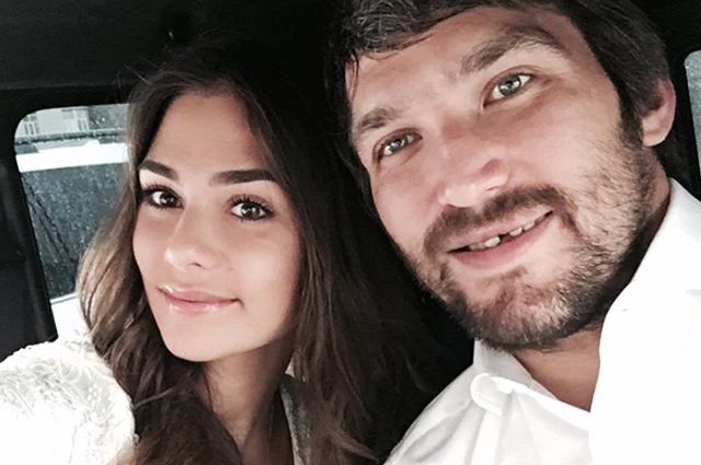 Александр Овечкин подтвердил слухи о свадьбе с Анастасией Шубской