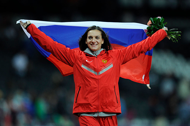 Елену Исинбаеву избрали в комиссию спортсменов Международного олимпийского комитета