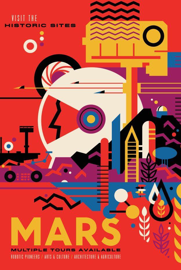 NASA-poster-mars
