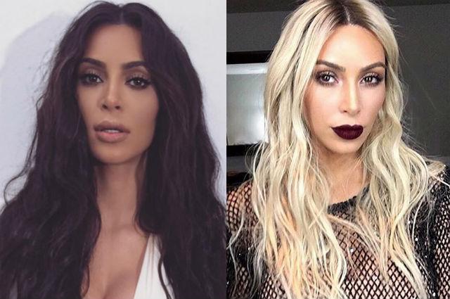 К премии MTV VMA-2016 готова: Ким Кардашьян стала платиновой блондинкой