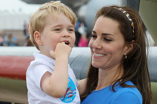 """Кейт Миддлтон рассказала о том, как принц Джордж помогает ей на кухне: """"Это настоящий хаос"""""""