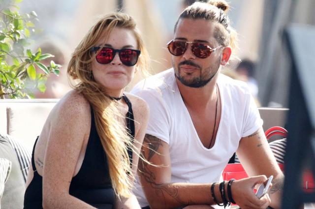 Линдси Лохан отдыхает в Греции с новым ухажером
