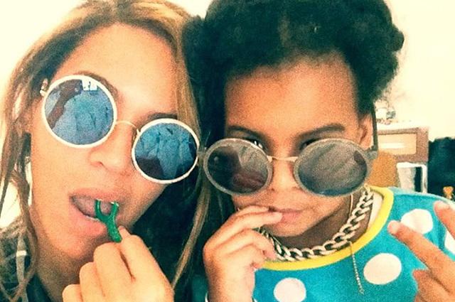 Лучшая из двойников: как Бейонсе делает из дочери Блу Айви икону стиля