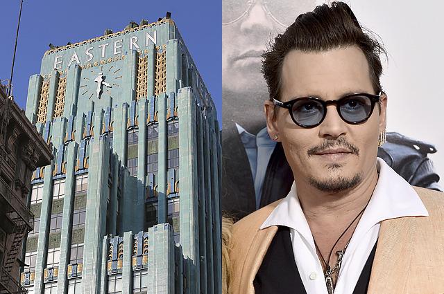 Джонни Депп продает свой уникальный пентхаус в Лос-Анджелесе за 12 миллионов долларов
