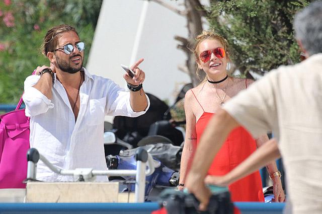 Линдси Лохан ждет извинений от Егора Тарабасова, но проводит время с греческим бизнесменом