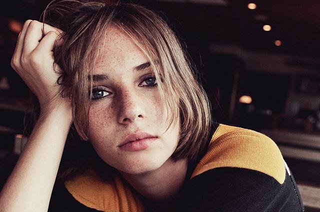 Майя Турман-Хоук стала лицом AllSaints: первые кадры рекламной кампании с участием дочери Умы Турман
