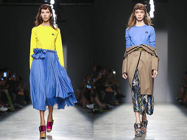 Неделя моды в Париже: Rochas, Vionnet, Chloe весна-лето 2017