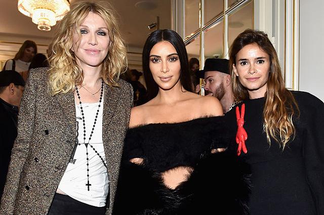 Ким Кардашьян, Наталья Водянова и другие гости вечеринки Buro 24/10 на Неделе моды в Париже