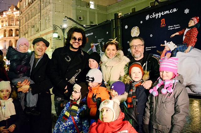 Филипп Киркоров, Ксения Алферова, Егор Бероев и другие на благотворительном празднике
