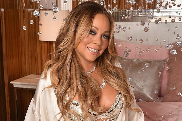 Красота в будуаре: Мэрайя Кэри на запуске своей косметической коллекции