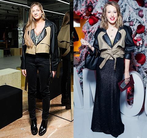 Модная битва: Александра Новикова против Ксении Собчак