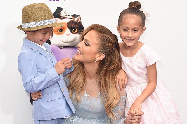 Стиляги: Дженнифер Лопес поделилась новым фото детей