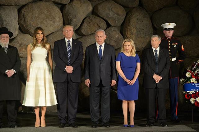 Дональд и Мелания Трамп завершили свой официальный визит в Израиль и прибыли в Италию