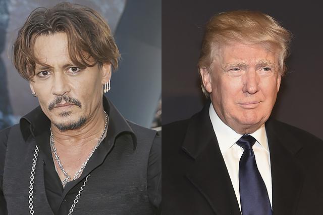 Джонни Депп извинился за свою злую шутку о Дональде Трампе