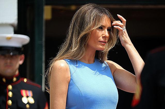 Новый образ первой леди США: Мелания Трамп на приеме в Белом доме