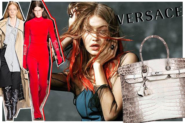 От Джиджи Хадид в съемке Versace до самой дорогой сумки в мире: о чем еще говорили в моде на этой неделе