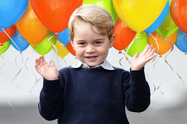 Принцу Джорджу четыре года: 10 милых фактов о маленьком принце