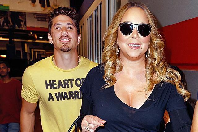 47-летняя Мэрайя и ее 33-летний бойфренд Брайан Танака провели день вместе в Нью-Йорке