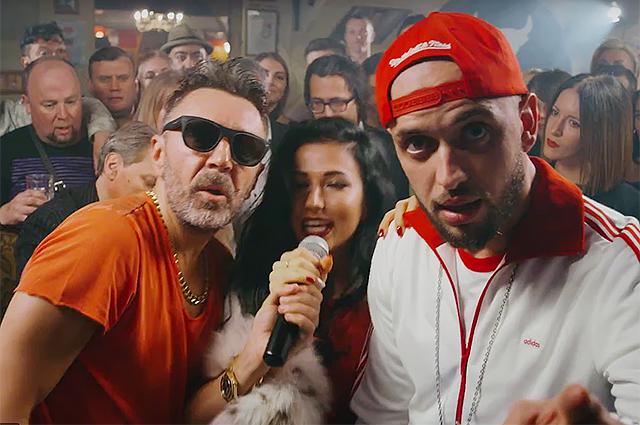 """Сергей Шнуров устроил рэп-баттл в своем новом клипе """"Ч. П. Х."""""""