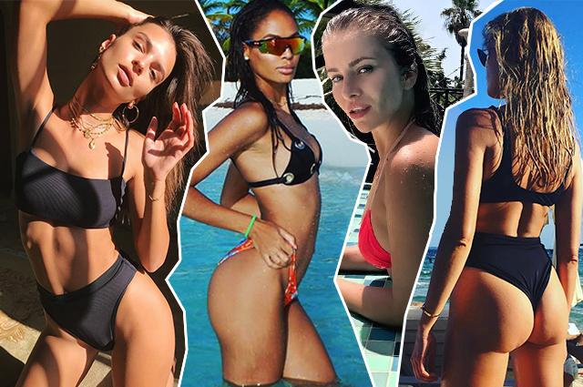 Звездное бикини: Ратажковски, Перминова, Хайек и другие звезды делятся отпускными фото