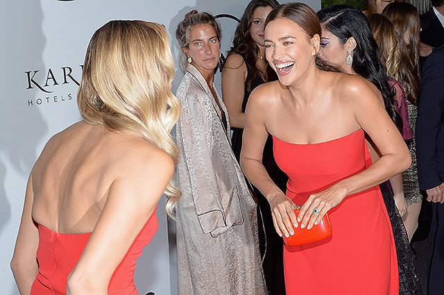 Ирина Шейк, Леонардо ДиКаприо, Наташа Поли и другие на благотворительном вечере в Нью-Йорке