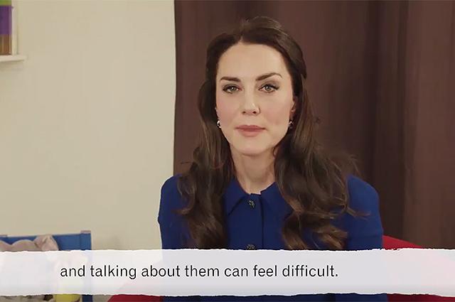Кейт Миддлтон снялась в мультфильме, посвященном психическому здоровью детей