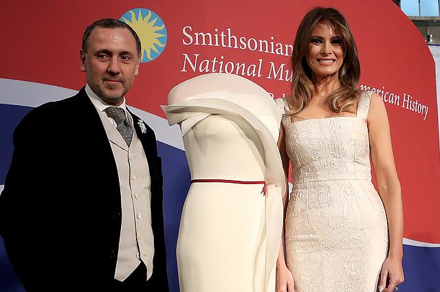 Мелания Трамп подарила Национальному музею американской истории свое платье с инаугурационного бала