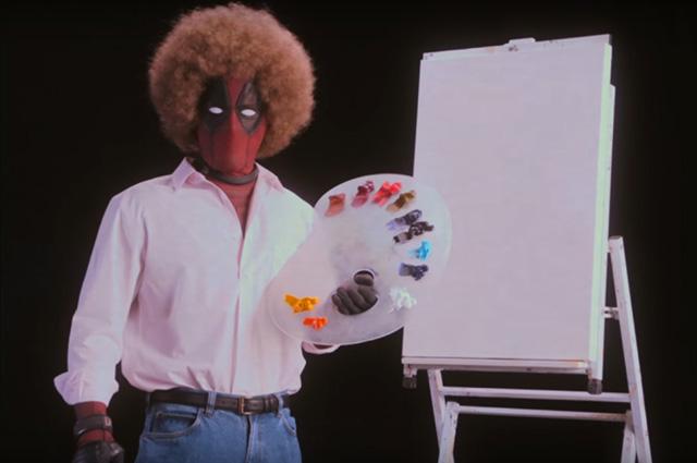"""Райан Рейнольдс учит рисовать в новом забавном тизере фильма """"Дэдпул 2"""""""
