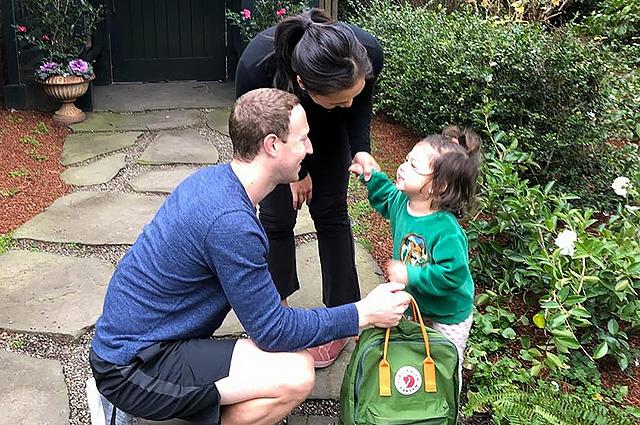 Двухлетняя дочь Марка Цукерберга пошла в детский сад