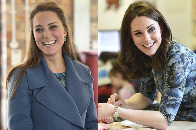 Кейт Миддлтон повторила свой образ трехлетней давности для выхода в свет в Лондоне