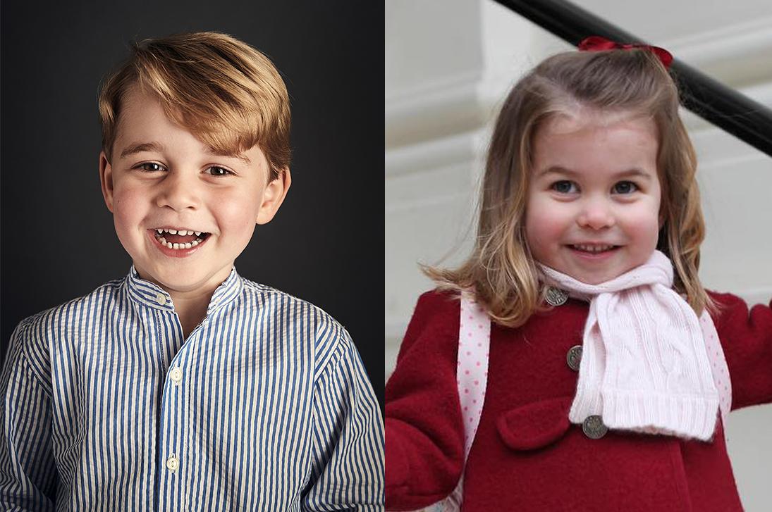 """""""Ловец снов"""", лошади и набор для выпечки: что в прошлом году подарили принцу Джорджу и принцессе Шарлотте"""