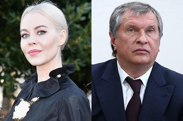 Игорь Сечин прокомментировал слухи о романе с Ульяной Сергеенко