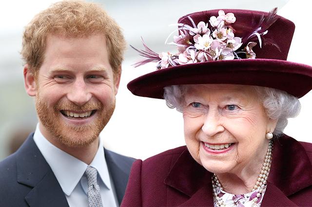 """Королева Елизавета II официально одобрила свадьбу """"своего любимого внука"""" принца Гарри и Меган Маркл"""