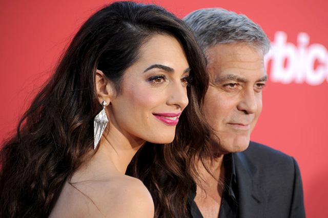 Амаль Клуни снялась для Vogue и рассказала о муже и детях