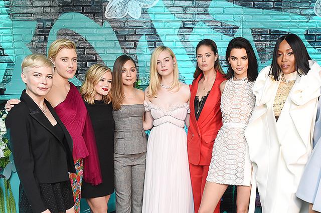 Кендалл Дженнер, Наоми Кэмпбелл, Мишель Уильямс, Хейли Болдуин и другие звезды на презентации Tiffany & Co