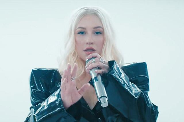 Кристина Агилера и Деми Ловато представили клип на песню Fall In Line