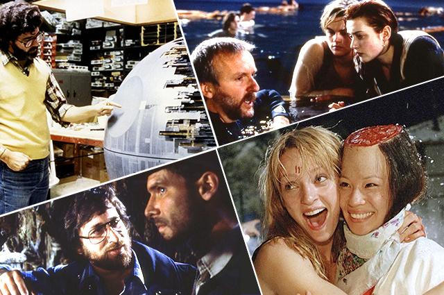 """10 редких фотографий со съемок культовых фильмов: """"Убить Билла"""", """"Звездные войны"""", """"Титаник"""", """"Гарри Поттер"""" и не только"""