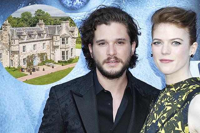 Подробности предстоящей свадьбы Кита Харингтона и Роуз Лесли: звезды съезжаются в замок в Шотландии
