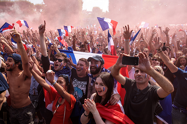 Финал ЧМ-2018: Франция победила