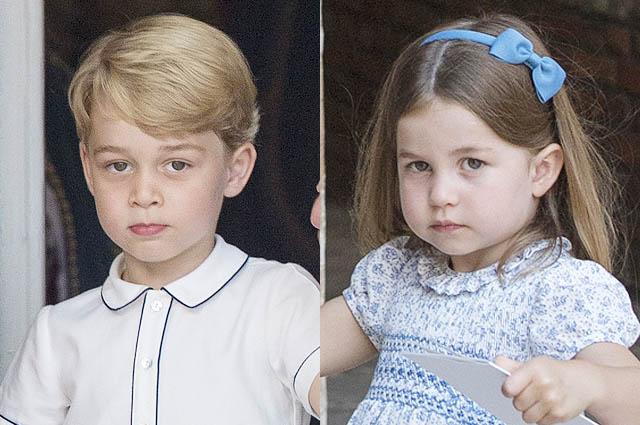 Принц Джордж и принцесса Шарлотта очаровали публику на крестинах принца Луи