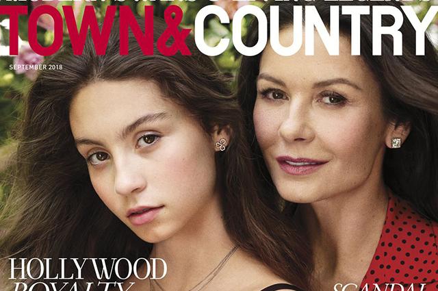Дочь Кэтрин Зеты-Джонс и Майкла Дугласа снялась в фотосессии и призналась, что ее травят из-за старого отца