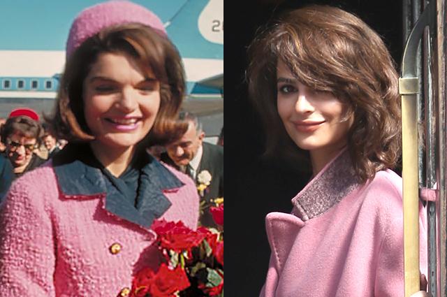 Эмили Ратажковски перевоплотилась в Джеки Кеннеди в новой съемке