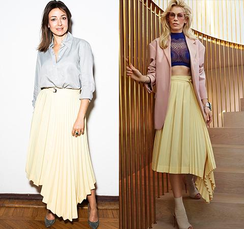 Модная битва: Ирина Вольская против Клаудии Шиффер