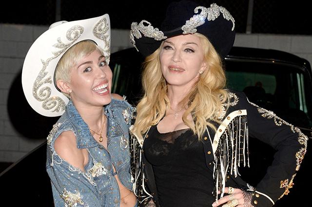 """Мадонна поддержала Майли Сайрус, обвиненную в изменах Лиаму Хемсворту: """"Ей не нужно извиняться"""""""