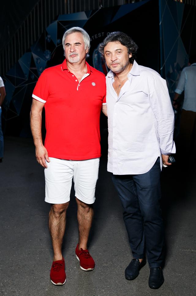 Валерий Меладзе и Александр Румянцев