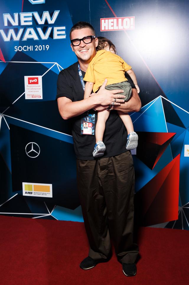Антон Беляев с сыном Семеном