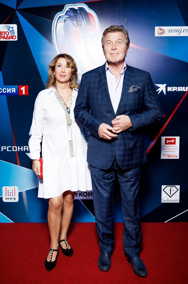 Лев Лещенко с супругой Ириной