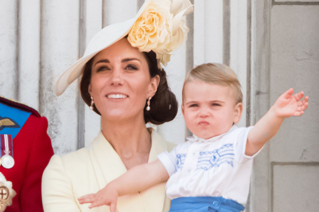 Кейт Миддлтон рассказала новые подробности о принце Луи, а принц Уильям принял свой детский снимок за фото дочери