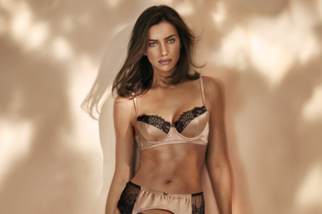 Ирина Шейк снялась в рекламе нижнего белья Intimissimi